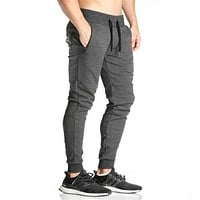 Elastic Waist Jogger Pants for Men