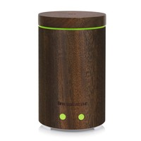 InnoGear Real Bamboo Essential Oil Diffuser Ultrasonic Aromatherapy Diffusers with 7 LED Colorful Lights and Waterless Auto...
