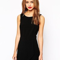 New Look | New Look Textured Crepe Playsuit at ASOS