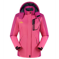 High Quality Women Ski Jacket Snowboarding Colorful Warm Waterproof Windproof Breathable Skiing Jackets Clothes
