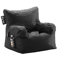 Big Joe Stretch Limo Black Dorm Chair In Smartmax