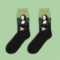 Mona Lisa Sock | Long