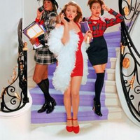 """Clueless Movie Poster Textless Stairs 16""""x24"""""""
