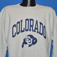 80s Colorado Buffaloes Champion Sweatshirt Extra Large