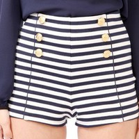 Striped Matelot Shorts