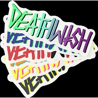 Deathwish Deathspray Iii Decal Single Assorted Colors