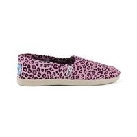 Tween TOMS Leopard Casual Shoe, Pink, at Journeys Shoes