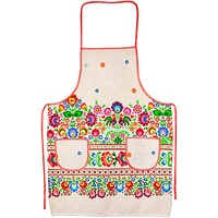 "Kitchen apron ""Kvity"""