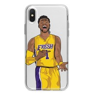 D'ANGELO RUSSELL LAKERS CUSTOM IPHONE CASE