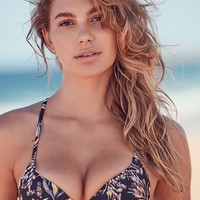 Out From Under Printed Underwire Demi Bikini Top | Urban Outfitters
