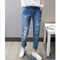 Summer Casual Pants Jeans [6332323332]