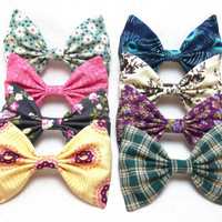 Choose ONE Bow from the Fall Collection- One Large Fall Bow
