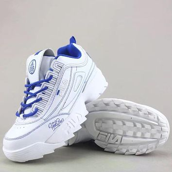 Trendsetter Fila Fht Rj Disruptor Ii  Fashion Casual Sneakers Sport Shoes
