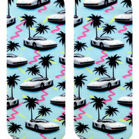 Miami Vice Ankle Socks