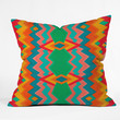 Elisabeth Fredriksson Happy Land Pattern Throw Pillow