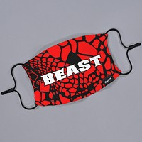 Beast Snake Skin Red DIY Face Mask