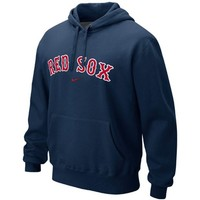 Mens Boston Red Sox Nike Navy Blue Classic Pullover Hoodie
