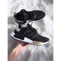 Adidas NMD individuality Sequins Fashion Trending Women Leisure Running Sports Shoes