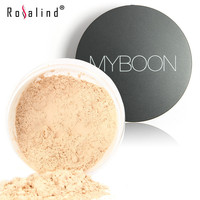 Brand MYBOON Face Makeup Loose Powder Setting Powder Ultra-Light Perfecting Finishing Powder in 4 Colors