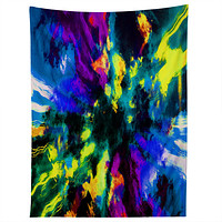 Caleb Troy Bat Crazy Clouds Tapestry