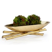 Golden Bamboo Bowl | Bowls & Plates | Decorative Accessories | Home Accents | Decor | Z Gallerie