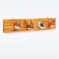 Sass & Belle Woodland Animal Hook Set - Urban Outfitters