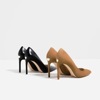 LEATHER HIGH HEEL SHOES - View all-SHOES-WOMAN | ZARA Portugal
