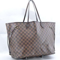 DCCKHI2 Authentic Louis Vuitton Damier Neverfull GM Tote Bag N51106 LV 36746