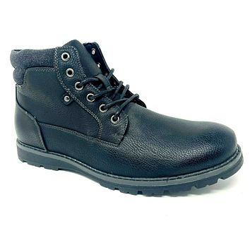 Unlisted by Kenneth Cole Hall Way Boots Black Chukka Mens Size 10