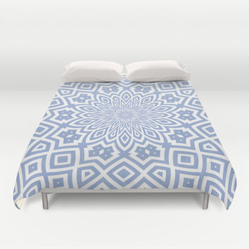 Helena Sky Duvet Cover by Lisa Argyropoulos