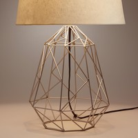 Pewter Theo Table Lamp Base