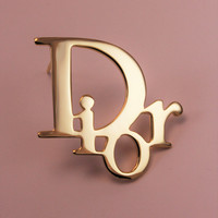 Brooch Christian DIOR Authentic and Vintage