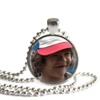 Stranger Things Dustin Henderson Silver Plated Picture Pendant Necklace