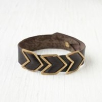 Free People Chevron Leather Bracelet at Free People Clothing Boutique