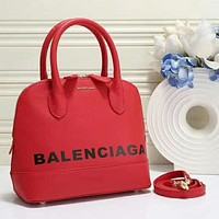 Balenciaga Fashion Leather Handbag Tote Satchel