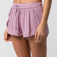 PATRONS OF PEACE Pom Pom Womens Shorts | Loungewear