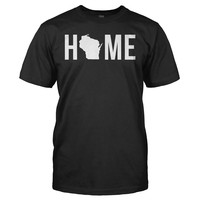 Home State - Wisconsin - T Shirt