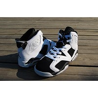 Air Jordan 6 black/white Basketball Shoes 36-47