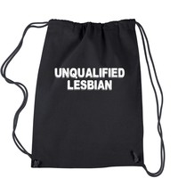 Unqualified Lesbian Drawstring Backpack
