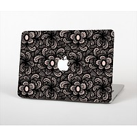 "The Black Floral Lace Skin Set for the Apple MacBook Pro 13""   (A1278)"