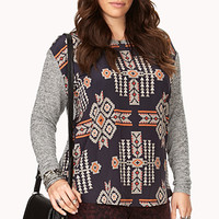 Out West Heathered Knit Top