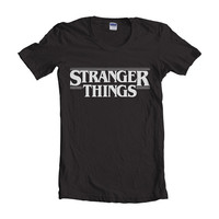 Stranger Things women short sleeves t-shirt tee
