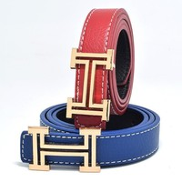 fashion leisure designer Children's belt of boys and girls cowboy belts hing quality PU child belt Candy colors size 80CM