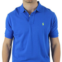 Polo Ralph Lauren Men's Classic Fit Mesh Polo Shirt