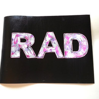 Rad 9 x 12 painting print for baby nursery, girls room, dorm room, or home decor