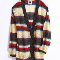 UO Eternal Sunshine Striped Cardigan | Urban Outfitters