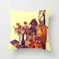 Ch-Ch-Changes Throw Pillow by Alayna H.