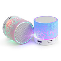 LED Mini Bluetooth Speaker Portable Wireless soundbar Speakers Music Sound Box Subwoofer Support TF Card For IPhone Xiaomi