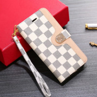 White LV LOUIS VUITTON Leather Wallet Stand Case for iPhone X XR XS MAX 6 6s 6plus 6s-plus 7 7plus 8 8plus X