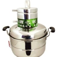 Gowe® Wine Making Moonshine Ethanol New Stainless Steel 8 Litre Spirits(alcohol) Boiler Complete System Home Brewing Equipment